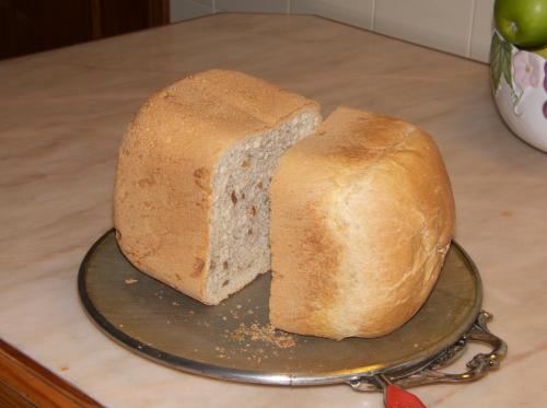 Pão com nozes
